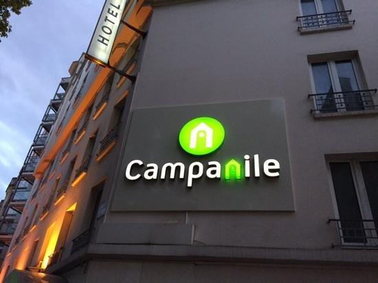 Campanile Paris 14 - Maine Montparnasse: ホテル外観