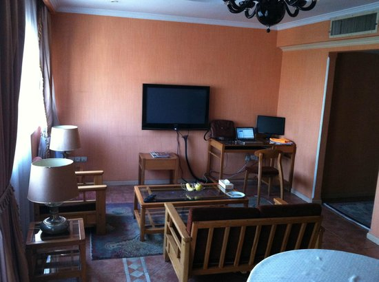 Niloo Hotel: Working area