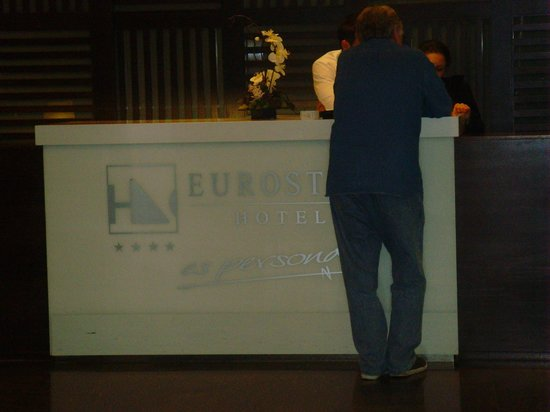 Eurostars Lucentum: Reception area