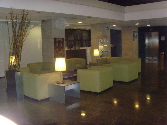 Eurostars Lucentum : Lounge area