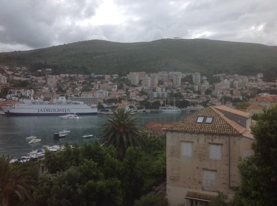 view from Hotel Lapad Balcony