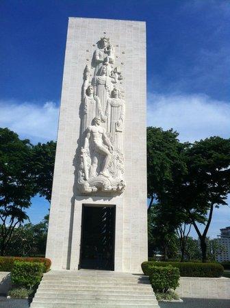 Manila American Cemetery and Memorial (Amerikanischer Soldatenfriedhof und Gedänkstätte): Chapel