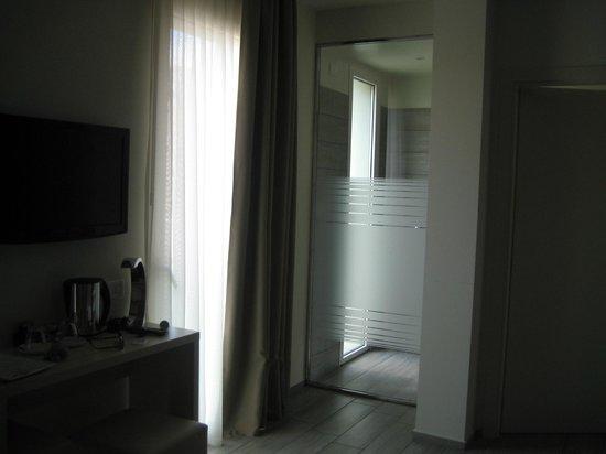 L'Hotel Rimini : doccia in camera