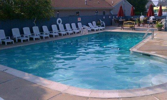 The Atlantic Motel: pool