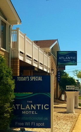 The Atlantic Motel: welcome