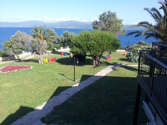 Club Resort Atlantis: vue de notre chambre