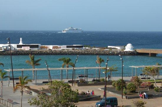 Apartaments Islamar Arrecife: Vista dalla terrazza