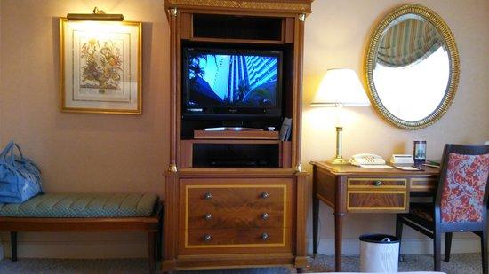 RIHGA Royal Hotel Tokyo : TV26インチは小さめですね