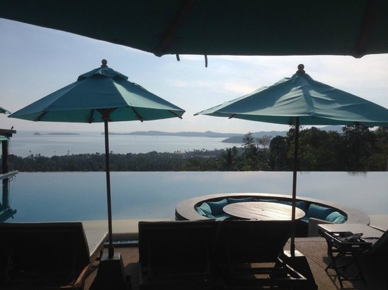 Mantra Samui Resort: The pool view