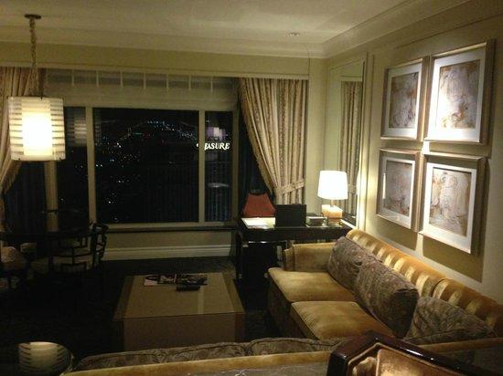 The Palazzo Resort Hotel Casino: Sunken Sitting Area