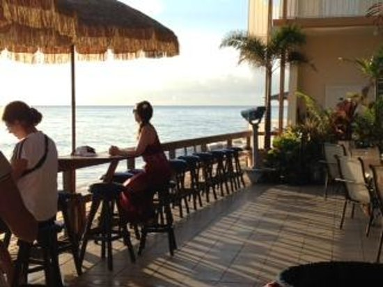 Villa Cofresi Hotel : Best seat for a sunset