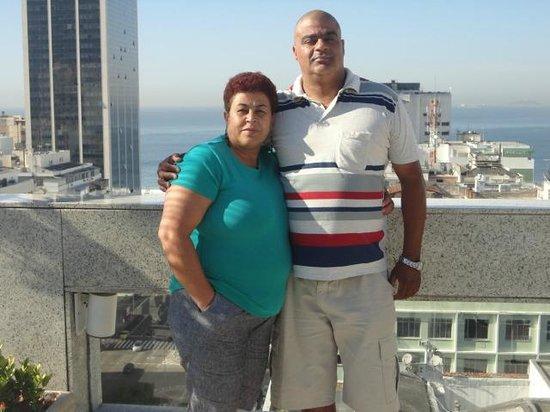 Windsor Plaza Copacabana Hotel: Vista para Praia
