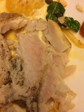 Risata Bali Resort & Spa: Uncooked fish