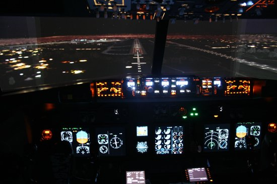 Лейкслип, Ирландия: Boeing 737 Simulator at Simcheck