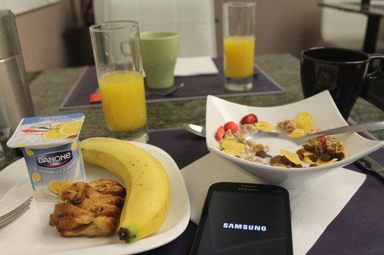 BEST WESTERN PLUS Hotel Ambra: Mi desayuno