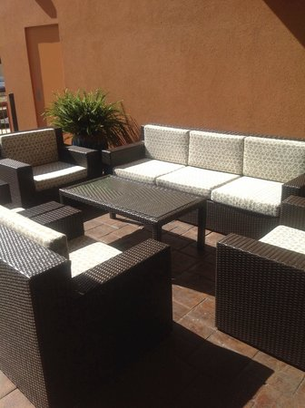 Holiday Inn Hotel & Suites Tupelo North: Lanai
