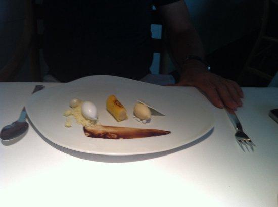 Atrio Restaurante Hotel Relais & Chateaux: Postre especial