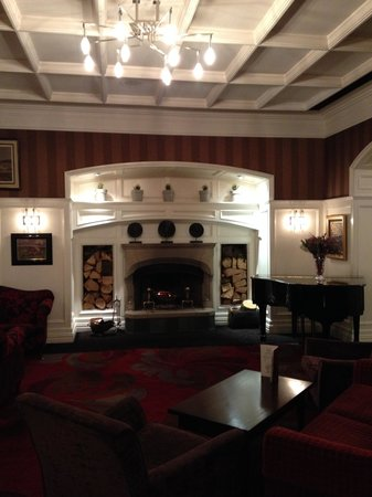 The Killarney Park Hotel: Gorgeous Lobby