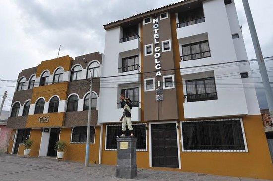 Colca Inn Hotel: Вход в отель