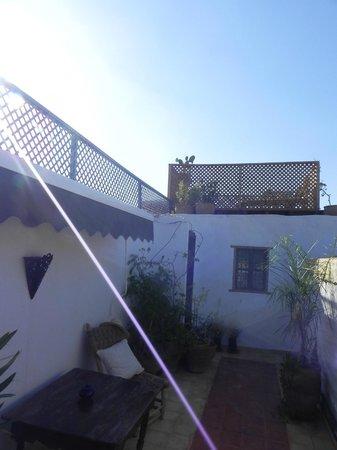 Riad Villa El Arsa : terrasse