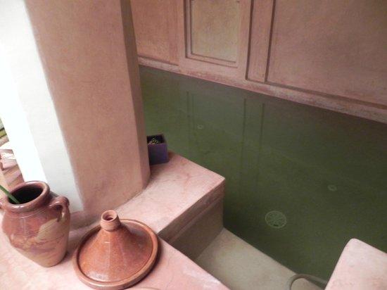 Riad Villa El Arsa: piscine/bain