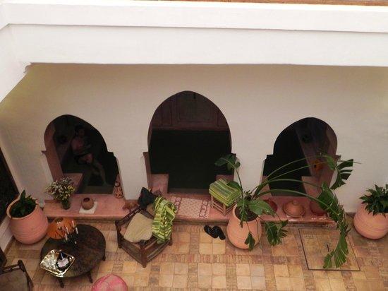 Riad Villa El Arsa: vu du haut