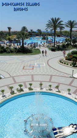 Lindos Princess Beach Hotel: Территория