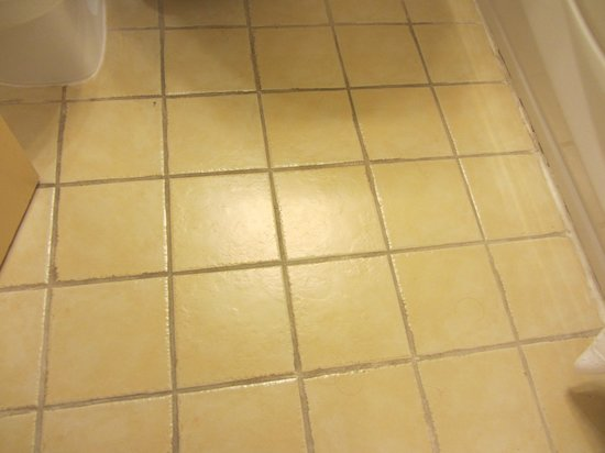 Quality Hotel Midtown : Dated bathroom floor