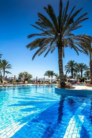 Constantinou Bros Athena Beach Hotel: Pool area