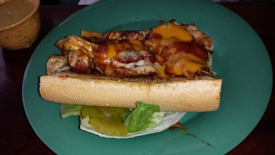 Sea Hag's Bar and Grill: special of the day sandwich