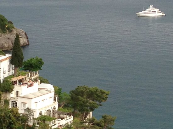 """La Fenice: """"Partial"""" sea view from our terrace"""