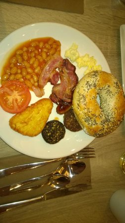 DoubleTree by Hilton Hotel Dublin - Burlington Road: colazione tipica irlandese...Irish Breakfast