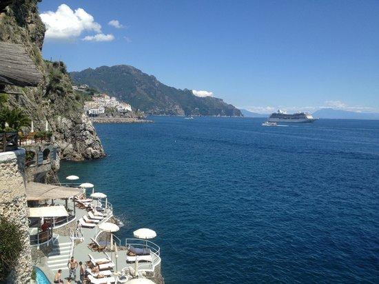 """Santa Caterina Hotel: Vista mare dal ristorante """"Il Mare"""""""