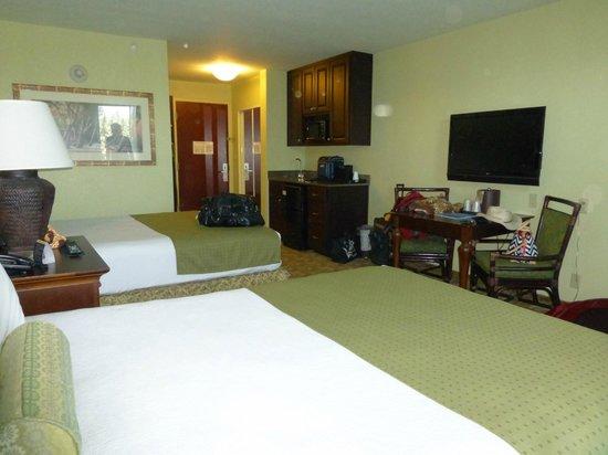 Treasure Bay Resort & Marina : Room view