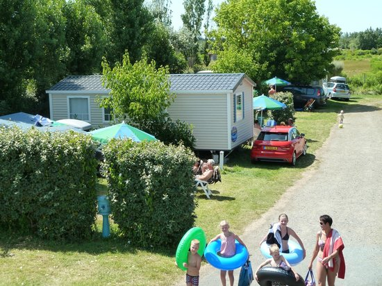 Camping Les Amiaux : Emplacement