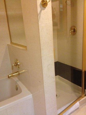 Luxor Las Vegas : Separate shower and tub