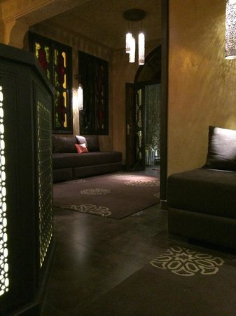 Les Bains de Marrakech : entrée