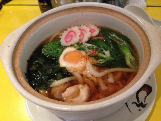 Kuishimbo: Nabeyaki udon