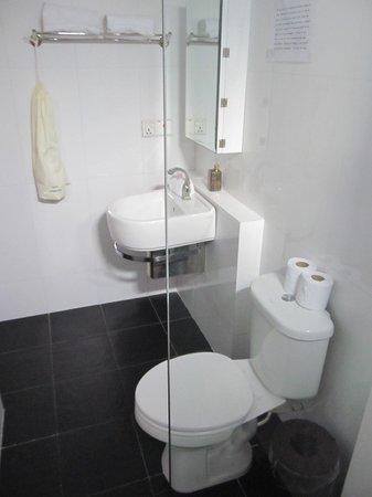 One Up - Banana Hotel : Good clean bathroom