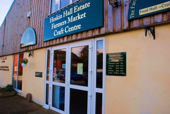 Heskin Farmers Market & Craft Centre