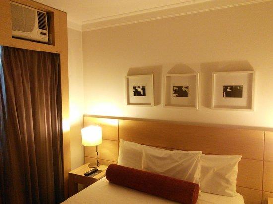 Nobile Suites Congonhas: Comfortable bed