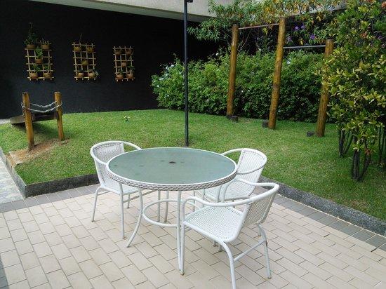 Nobile Suites Congonhas: Outdoor meeting room ;-)