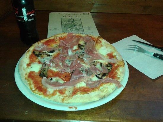 "Pizzeria La Fiorita: pizza de ""la fiorita"""