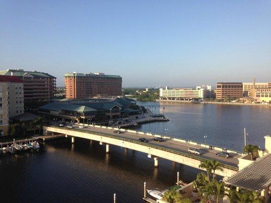 Tampa Marriott Waterside Hotel & Marina: Vista do quarto