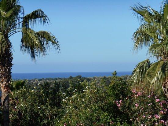 Xanthos Boutiquehotel : Blick vom Balkon zum Meer