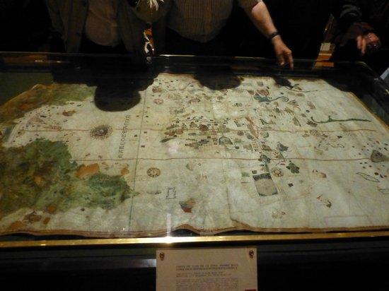 Naval Museum : MAPA DE 1500