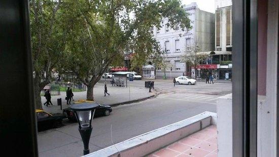 Grand Hotel Rio Cuarto: Vista desde el desayunador