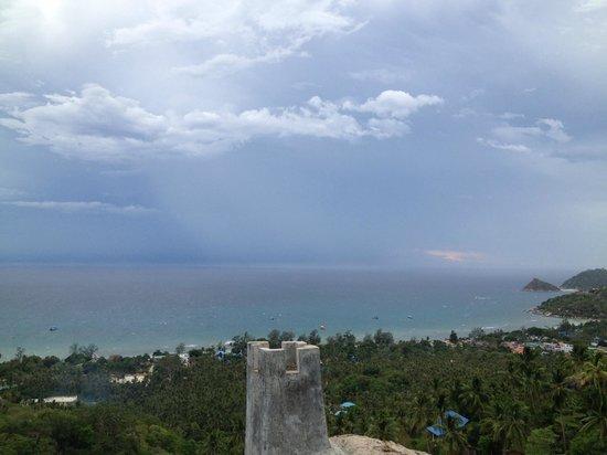 Koh Tao Star Villa: Vue au top du sommet de la villa