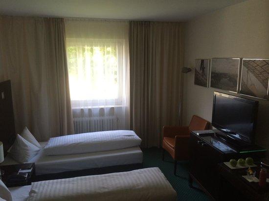 Fleming's Hotel München-Schwabing: Twin Bed Zimmer