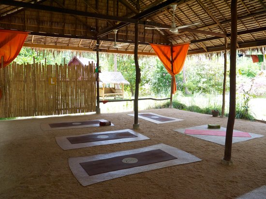 Grounded Koh Tao's Wellbeing Center: inside